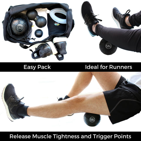 Plyopic Deep Tissue Massage Balls Easy Pack Ideal for Runners and Target and Release Muscle Tightness
