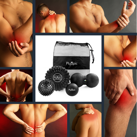 Plyopic Deep Tissue Massage Balls Eliminate Aches and Pains