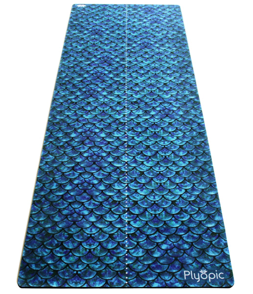 Plyopic-All In One Yoga Mat Mermaid-Yoga Mat