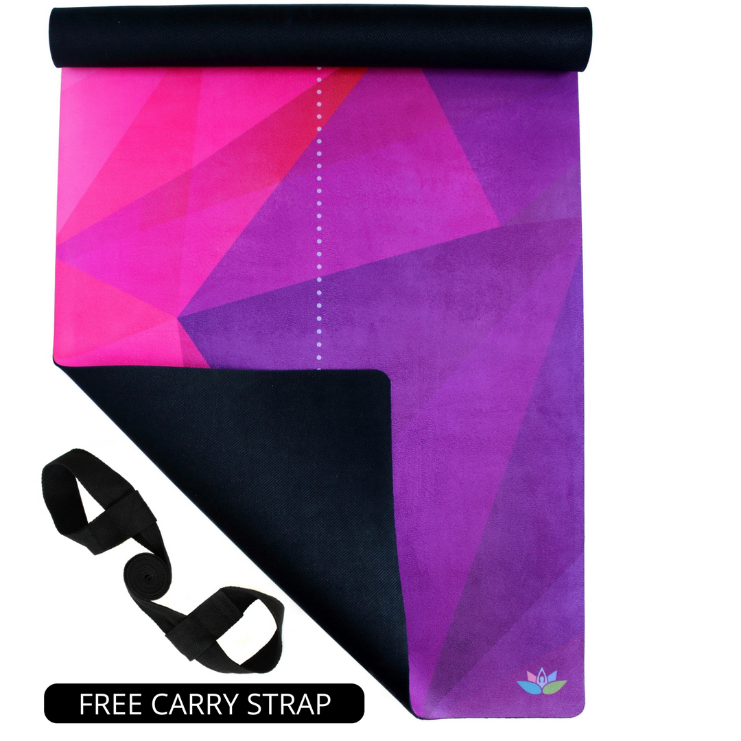 Plyopic-All In One Yoga Mat Neometric-Yoga Mat With Free Carry Strap