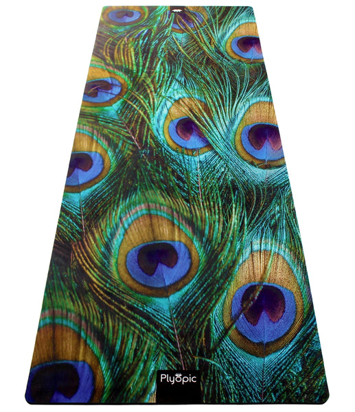 Plyopic-All In One Yoga Mat Peacock-Yoga Mat