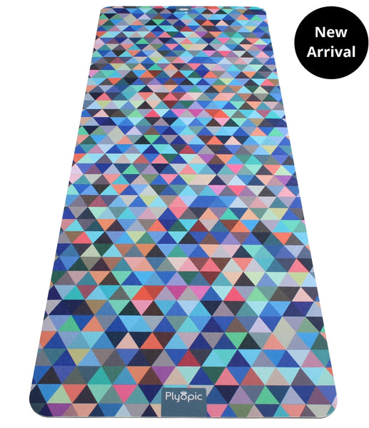 Plyopic-Printed Yoga, Pilates & Exercise Mat - Geometric-Yoga Mat