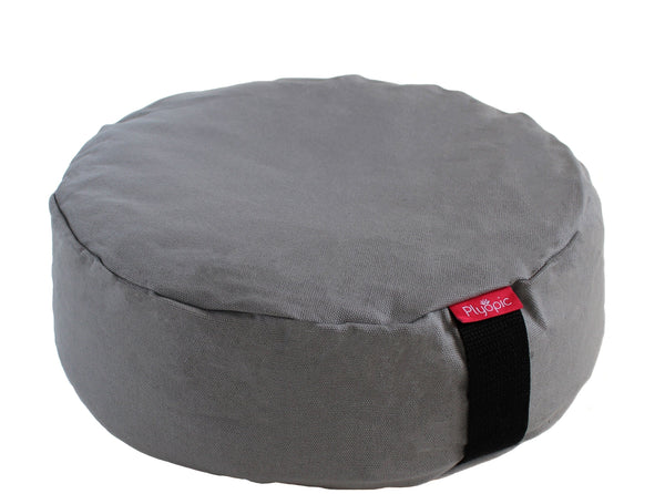 Plyopic-Zafu Meditation Cushion (Grey)-Meditation Cushion