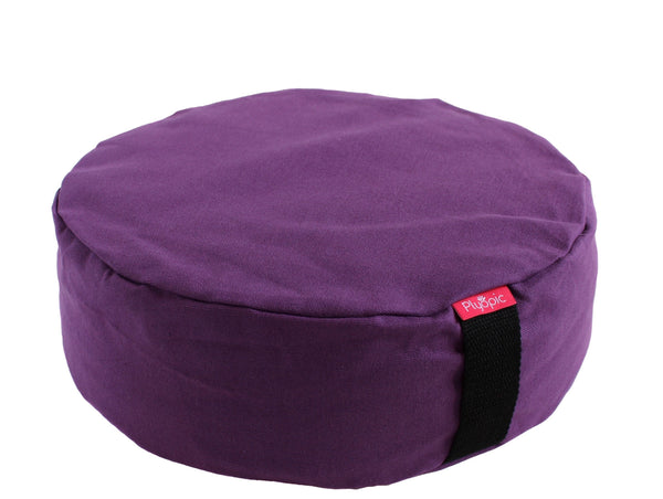 Plyopic-Zafu Meditation Cushion (Purple)-Meditation Cushion