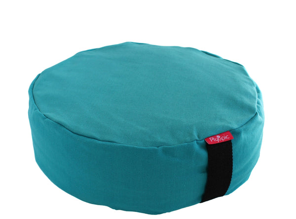 Plyopic-Zafu Meditation Cushion (Turquoise)-Meditation Cushion