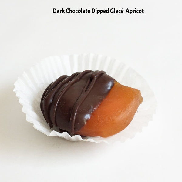 Chocolate Dipped Glacé Fruit