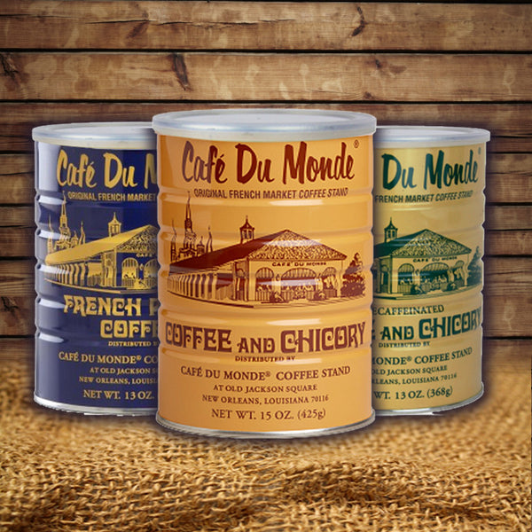 Café du Monde Coffee Tins