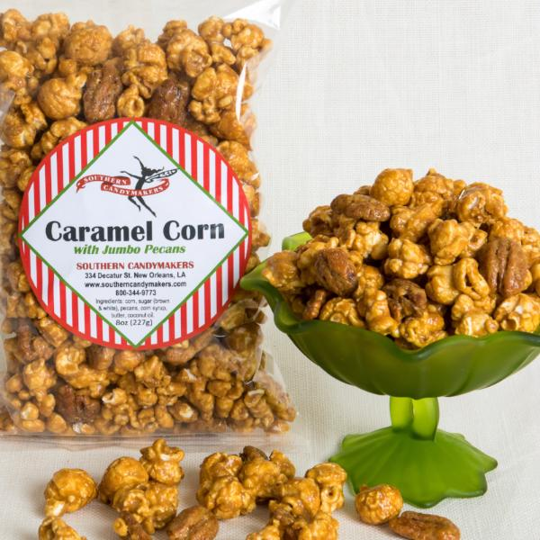 Caramel Corn with Jumbo Pecans