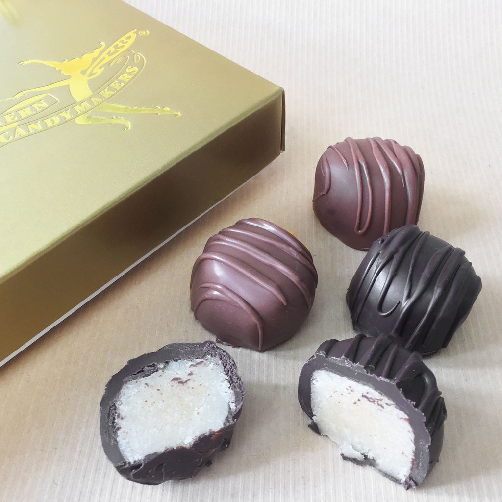 Chocolate Covered Marzipan Gift Box