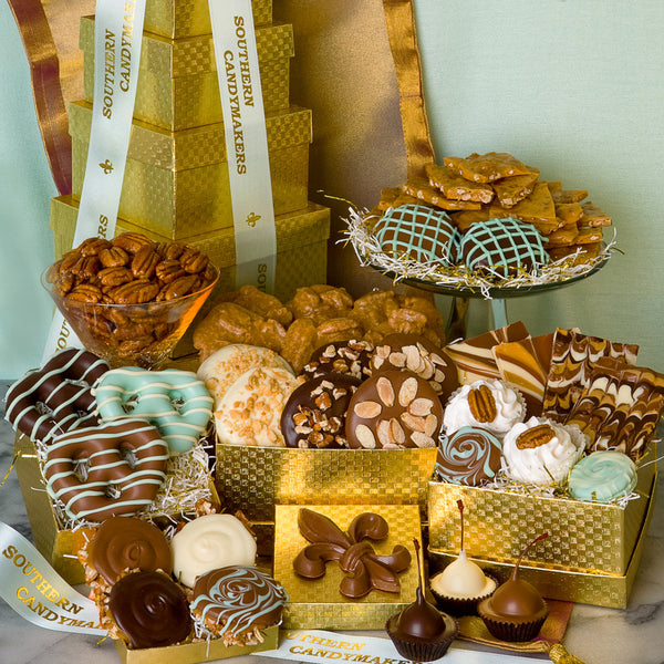 Gift towers southern candymakers 504 523 5544 fleur de lis tower negle Image collections