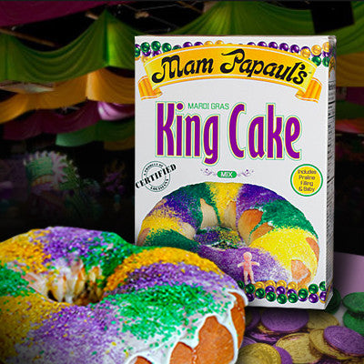 Mam Papaul's® King Cake Mix