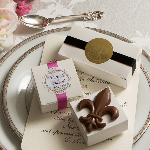 Wedding Favors with Seal & Coordinating Ribbon
