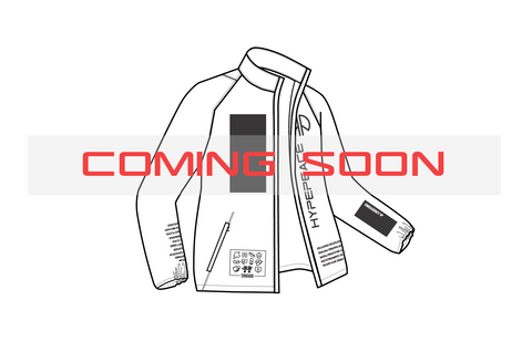 preview of HYPEPEACE protest jacket with blackboard print