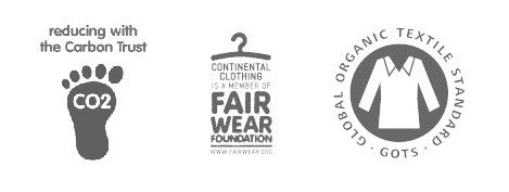 hypepeace hp fairwear gots carbon trust certified continental clothing