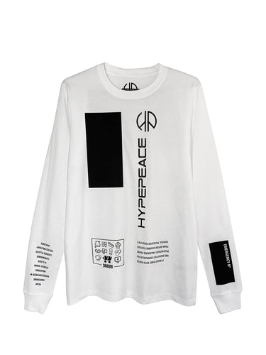 White Protest Long Sleeve