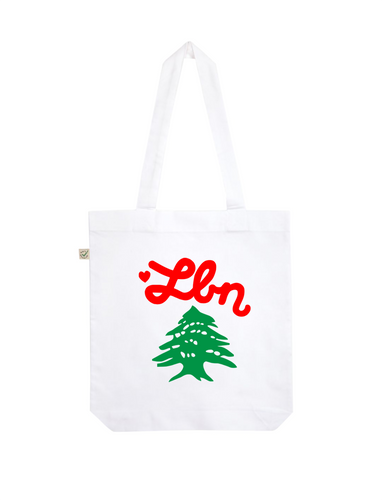 Beirut solidarity tote bag