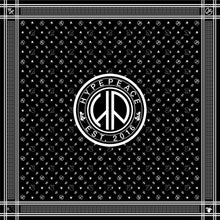 HP PEACE SCARF (BLACK)