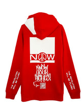 Red Protest Hoodie