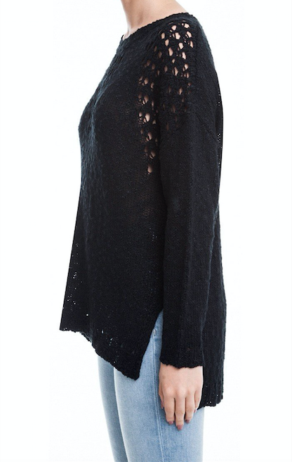 Layla Side Slit Sweater