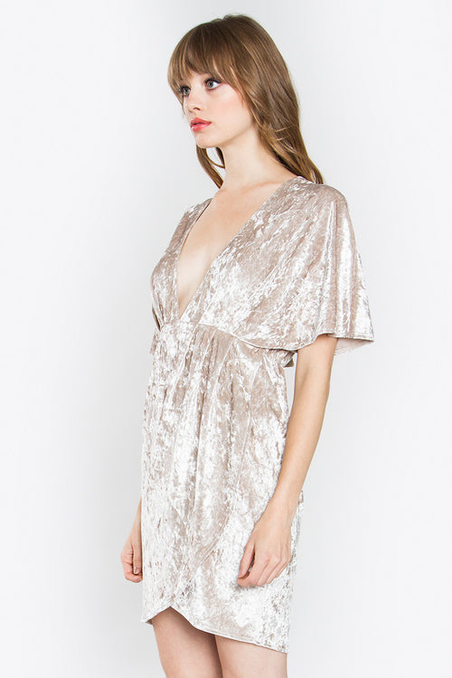 Kai Velvet Dress - Shop Sugar Sands