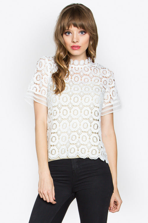 Kate Crochet Top - Shop Sugar Sands