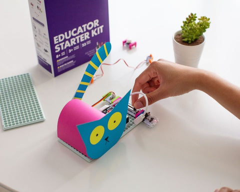 littleBits Open-And-Go Intro Kit Makes STEAM Learning Easy!