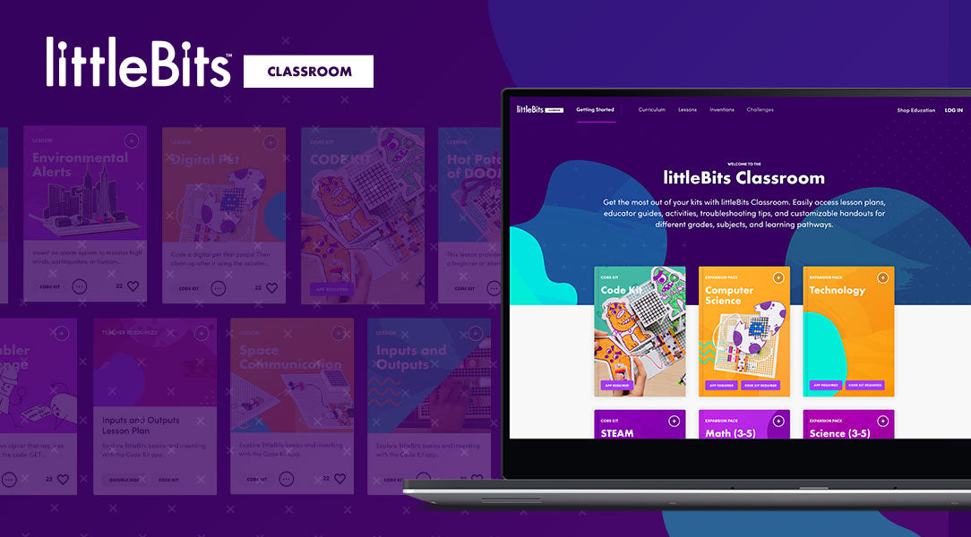 Explore littleBits Classroom