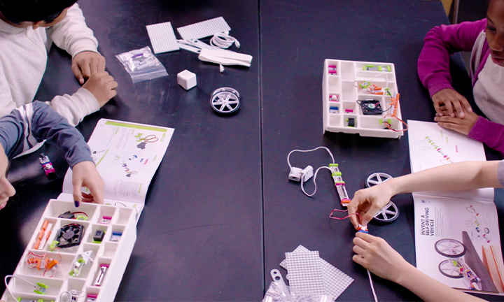 FIGHTING ABSENTEEISM WITH LITTLEBITS