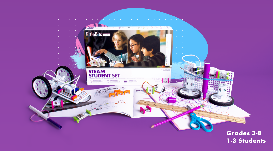 EXPLORE HANDS-ON STEAM KITS