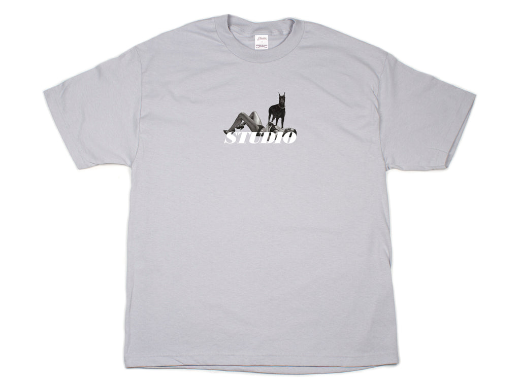 SOLD OUT - Dobermann - Tee - Silver Grey