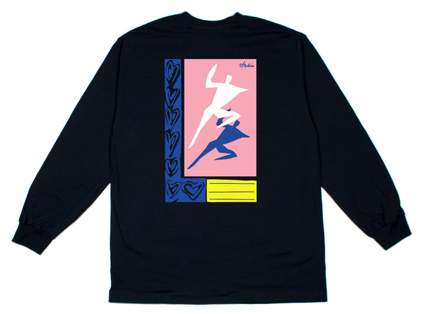 Just Dance - Longsleeve Tee - Navy