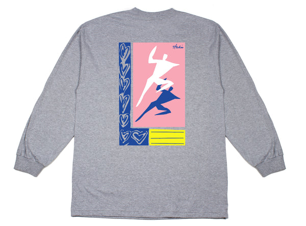 Just Dance - Longsleeve Tee - Heather Grey