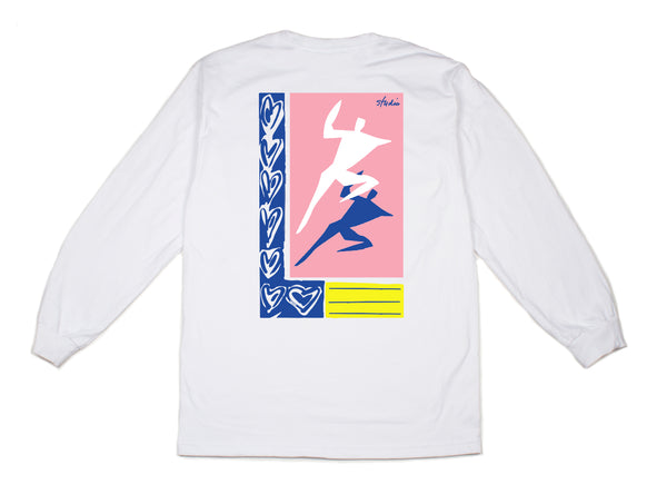 Just Dance - Longsleeve Tee - White