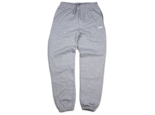 Small Script - Sweatpants - Heather Grey