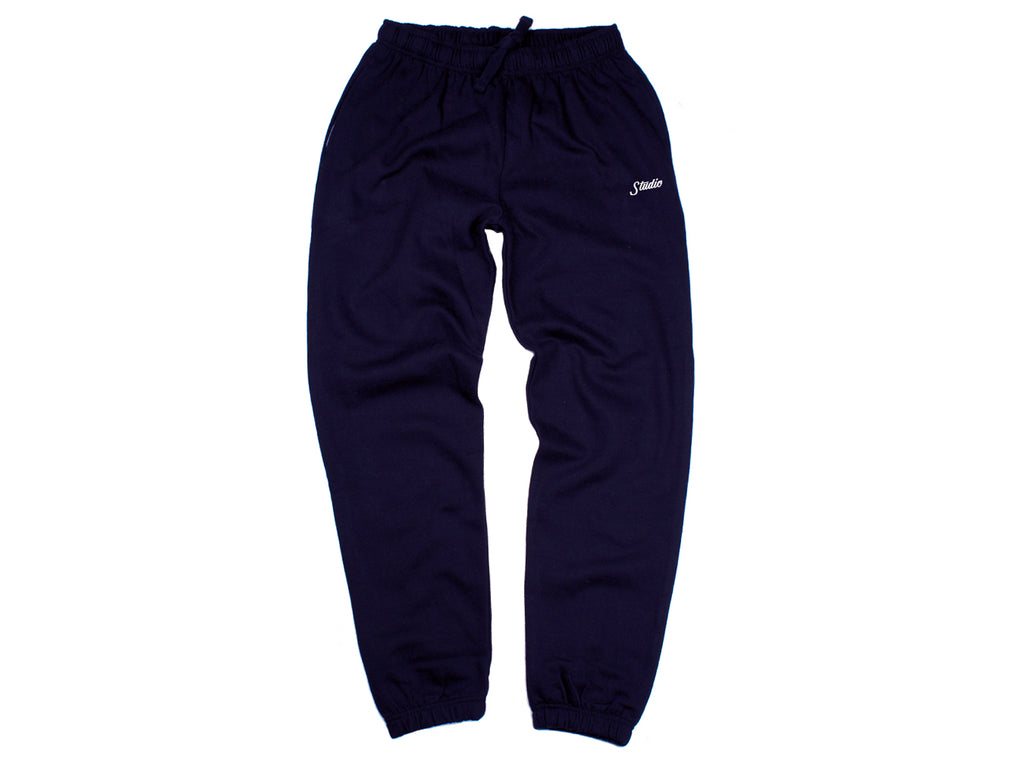 Small Script - Sweatpants - Navy