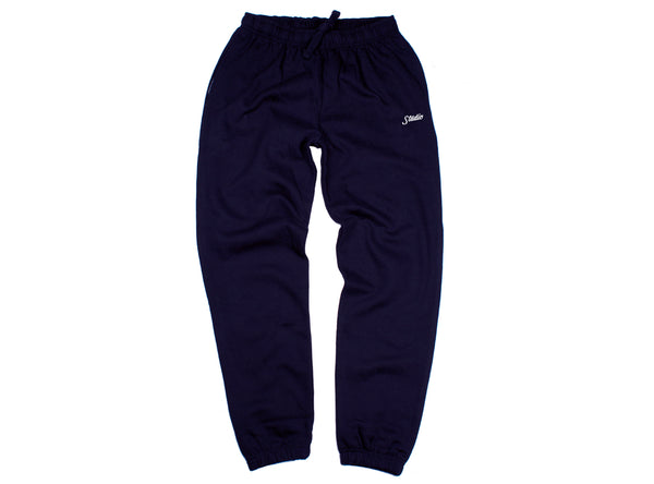 SOLD OUT - Small Script - Sweatpants - Navy