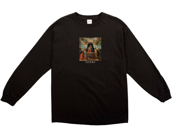 SOLD OUT - Angels Longsleeve - Black
