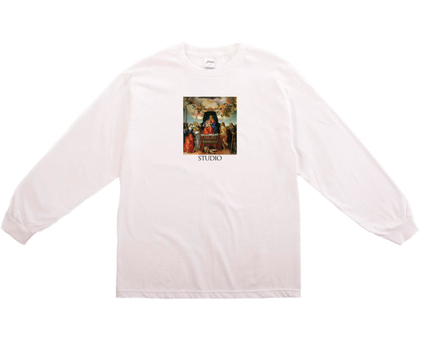 SOLD OUT - Angels Longsleeve - White
