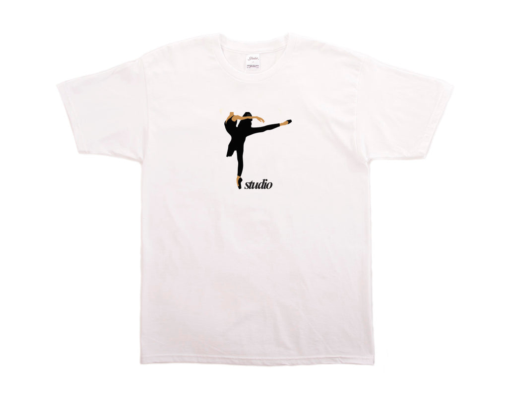 SOLD OUT - Ballet Tee - White