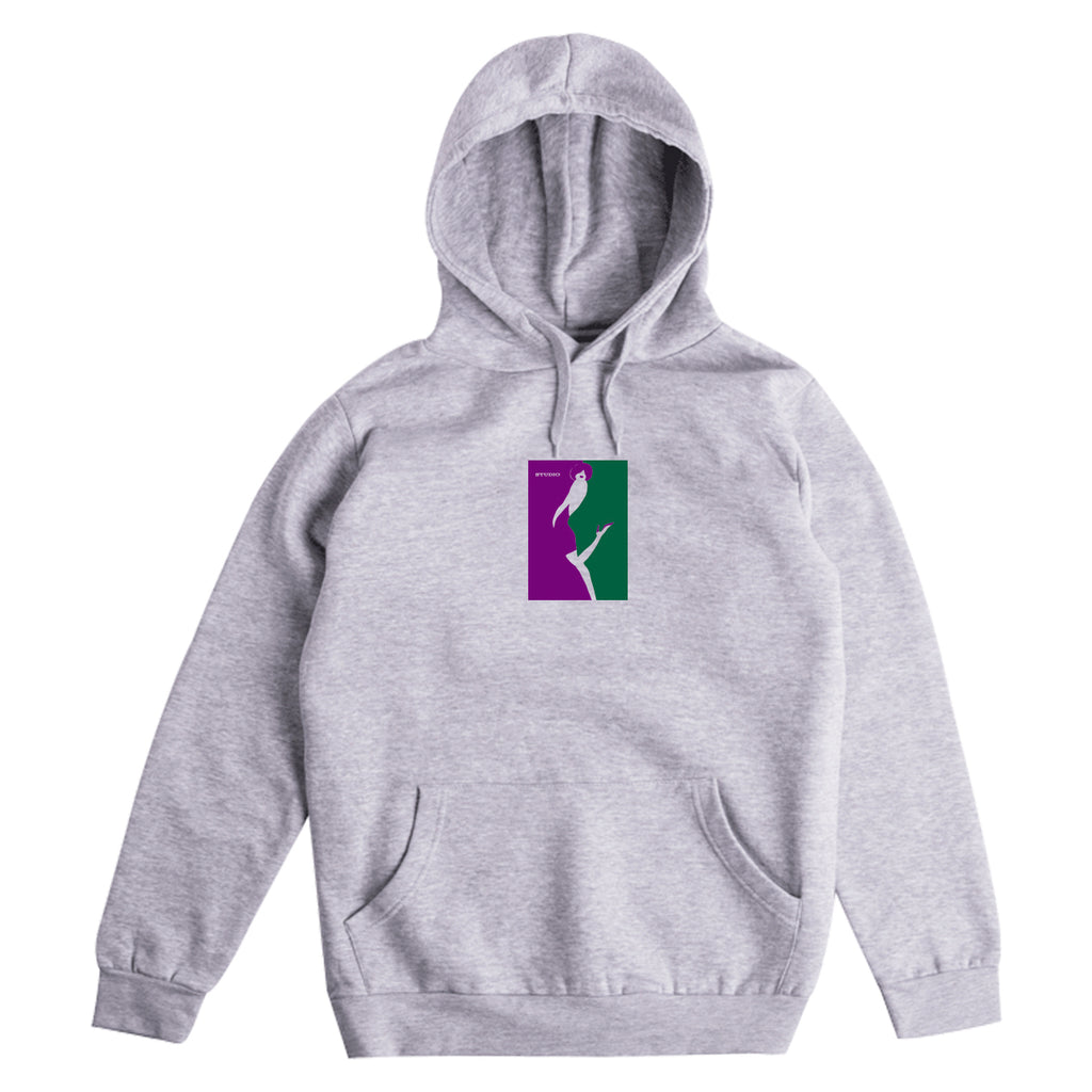 Kiss - Hoodie - Heather Grey - SOLD OUT
