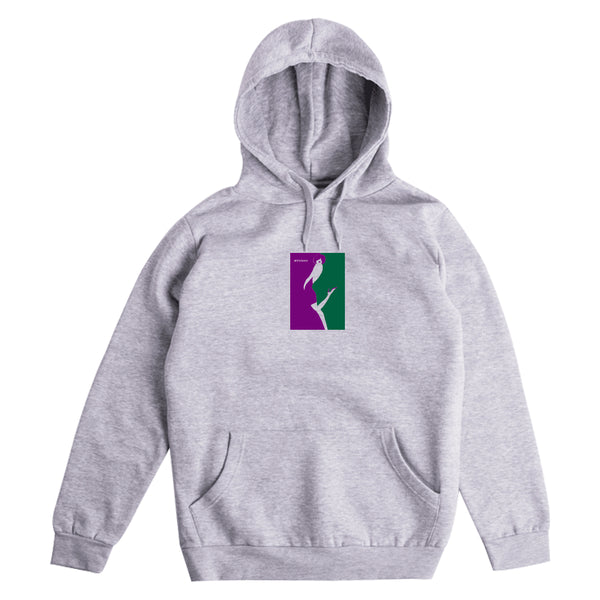 Kiss - Hoodie - Heather Grey