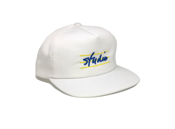 Bars - Unstructured Snapback - White