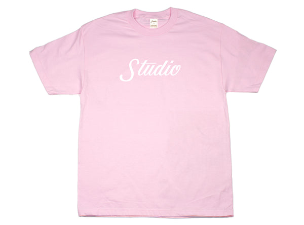 SOLD OUT - Big Script - Tee - Pink