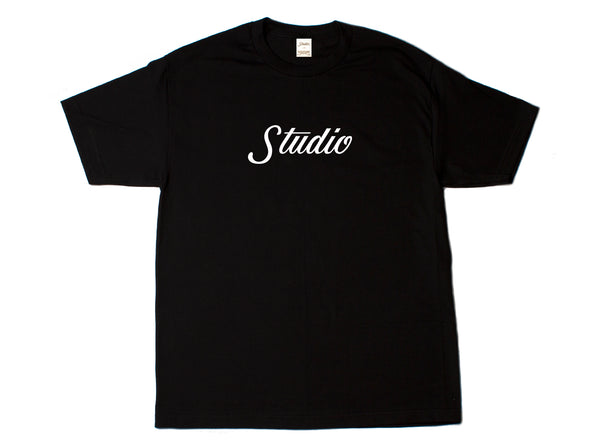 SOLD OUT - Big Script - Tee - Black