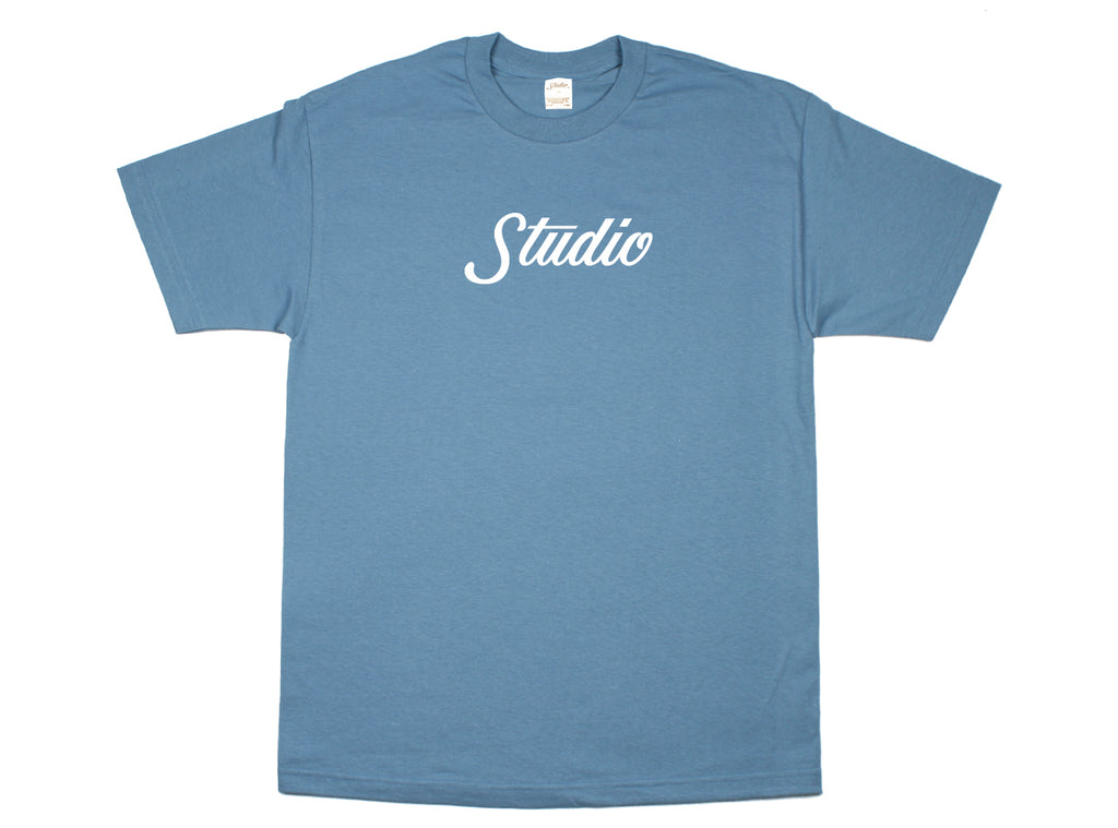 Big Script - Tee - Slate - SOLD OUT