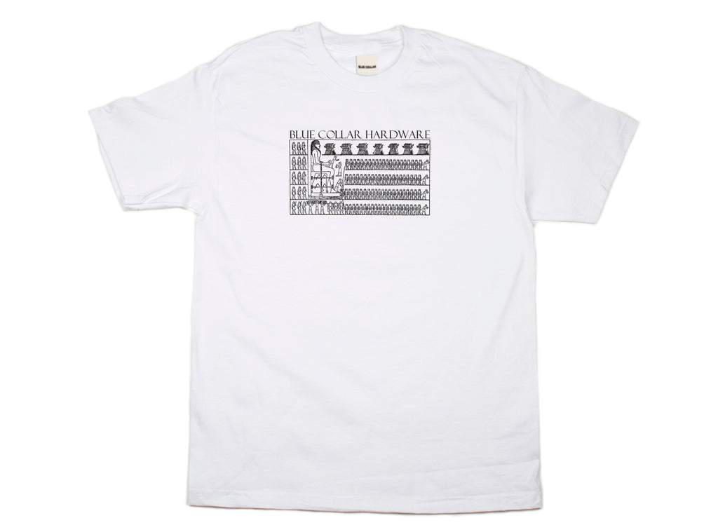 Blue Collar - Egypt - Tee - White