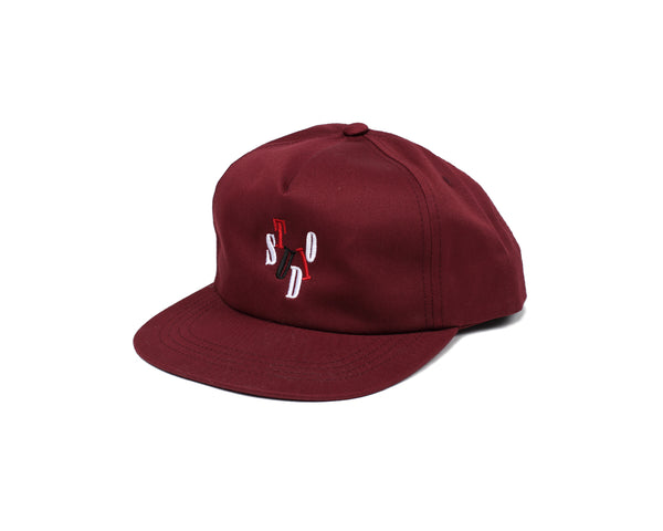 SOLD OUT - Blue Sky - Snapback - Burgundy