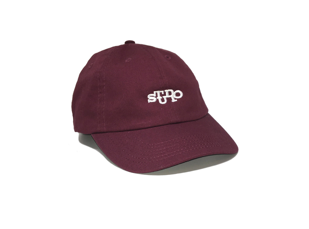 Connect - 6 Panel Hat - Burgundy