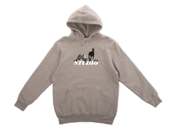 Dobermann - Hoodie - Heather Grey