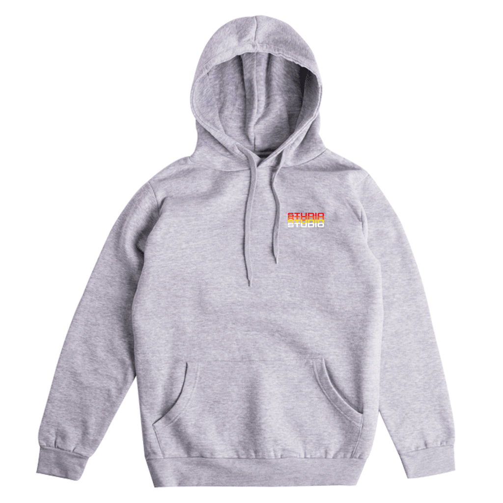 Fade - Hoodie - Heather Grey - SOLD OUT